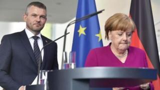 Hai nhà lãnh đạo của Slovakia và Đức trong buổi họp báo hôm 2/5/2018 đã nói về vụ 'bắt cóc Trịnh Xuân Thanh'