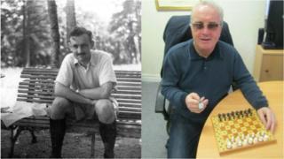 Major Rowland Bowen and Richard Moore