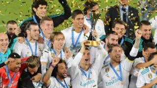Real Madrid oo noqotay kooxdii ugu guulaha badnayd 2017