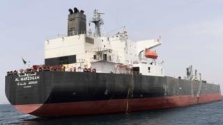 Саудівський танкер