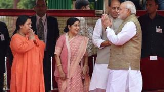 सुषमा स्वराज, उमा भारती