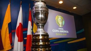 Troféu da Copa América 2019