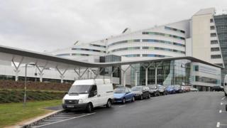 Birmingham's Queen Elizabeth II Hospital