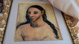 "Картина ""Голова молодой женщины"""