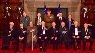 French honour for veterans