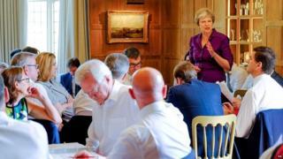 اجتماع مجلس الوزراء البريطاني