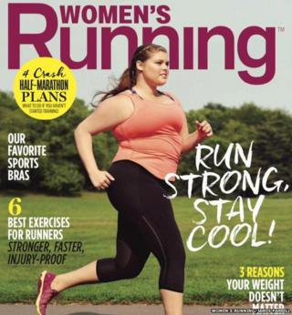 Fat and fit: The plus-size model and the running magazine