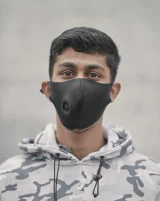 Man in a mask