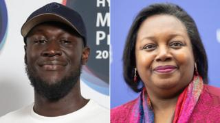 Stormzy and Malorie Blackman