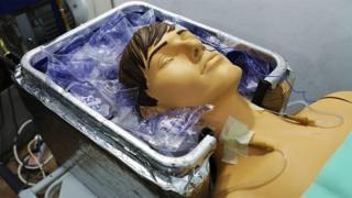 人體冷凍實驗室