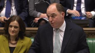 Secretary of State Theresa Villiers and Northern Ireland Minister Ben Wallace answered MPs questions in the House of Commons