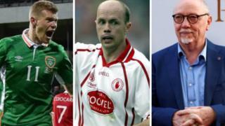 James McClean, Peter Canavan, Terry George