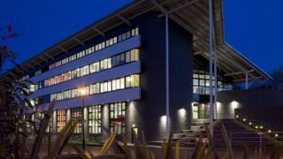 Building at University of Warwick