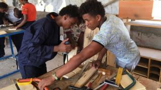 People working in Eritrea