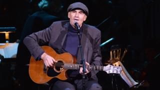 James Taylor performs in New York City.