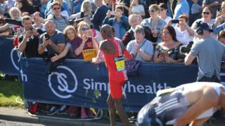 Sir Mo Farah Great North Run