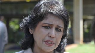 Na for 2015 Ameenah Gurib-Fakin enter as president