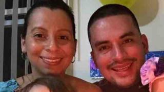 Pablo Villavicencio and his wife Sandra Chica