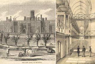 Illustrations of Reading Gaol - 19th Century
