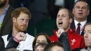 Tywysogion William a Harry