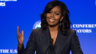 Michele Obama speaks at National Conference of Mayors 2016