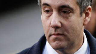 Michael Cohen, President Donald Trump's former personal attorney and fixer, arrives at federal court for his sentencing hearing, December 12, 2018