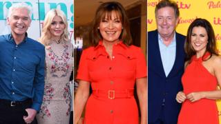 Phillip Schofield, Holly Willoughby, Lorraine Kelly, Piers Morgan and Susanna Reid
