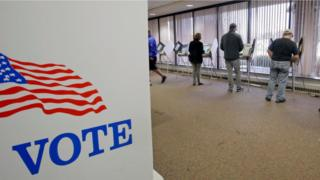 Votantes anticipados en EE.UU.