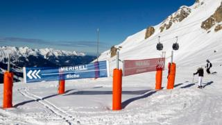The ski resort of Méribel in the French Alps. (File pic)
