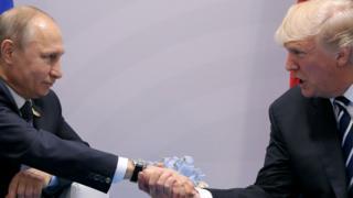 Putin saluda a Trump