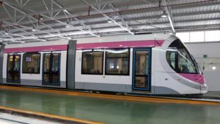 Train built by CAF