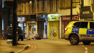 Scene on Streatham High Road