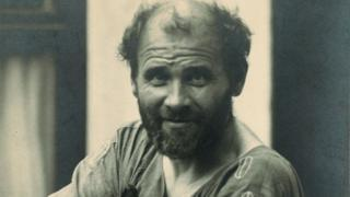 Gustav Klimt en 1912