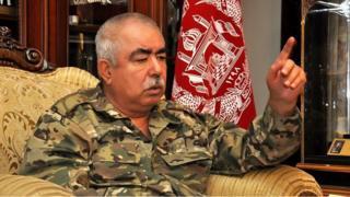Генерал Абдулрашид Дўстум