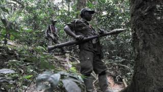 Umusirikare wa FDLR mu mashyamba ya Kongo mu 2009