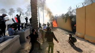 Протесты в Багдаде