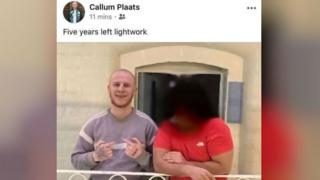 Prisoner's Facebook Post