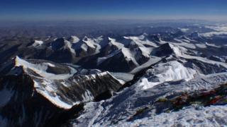 вид с вершины Эвереста