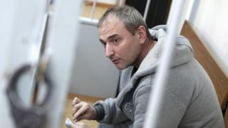Владимир Аникеев в зале Лефортовского суда 3 марта