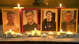 The men killed in the crash