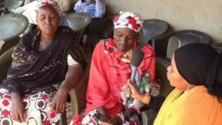 Chibok girl's parents