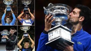 Сви Новакови трофеји