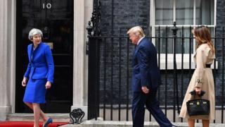ترامپ در خانه شماره ۱۰؛ 'دوستی بریتانیا و آمریکا در دنیا نظیر ندارد'
