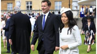 JEREMY HUNT AND HIS WIFE