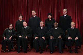 Nine Supreme Court Justices
