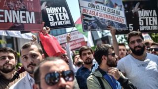 İstanbul'da protestolar
