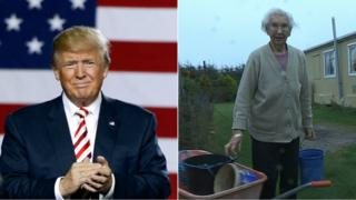 Donald Trump and Molly Forbes