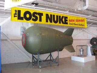 行方不明になった核爆弾のレプリカ