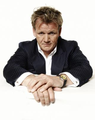 Gordon Ramsay as himself in the Extras Christmas Special. Thursday 27th December 2007