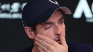 Andy Murray was in tears as he spoke to journalists on Thursday